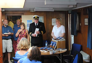 Captain Peter Roberts and the Author