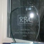 Rubery Book Award 2012