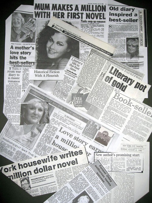 Louisa Elliot newspaper clippings