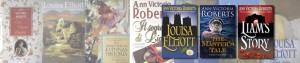 Ann Victoria Roberts book covers from around the world