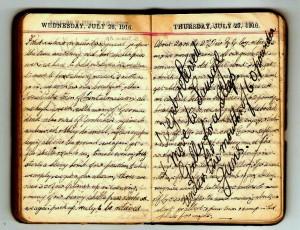 Blog 4 1916 Diary