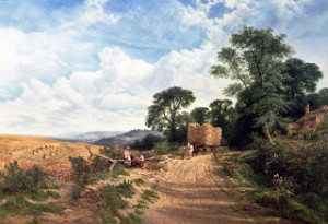 Blog 44a George Vicat Cole - Landscape - Harvest Time