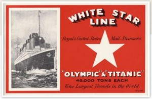 1 White Star Line advert
