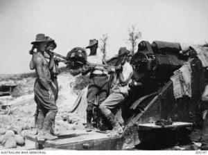 7  9.2 inch howitzer Somme - Aus War Memorial