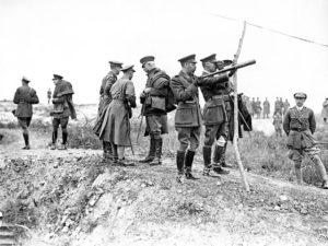 3 Pozieres Royal visit 10 Aug 1916 - Aus War Mem