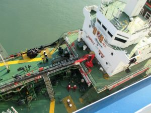 1 Whitchallenger fuelling Pont Aven