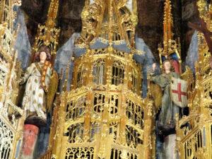 6 Detail of saints