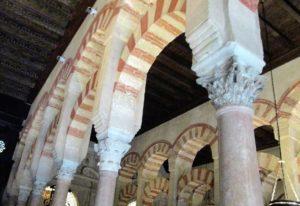1 Roman capitals atop marble columns