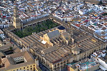 3 Aerial photo of the Mezquita, Wikipedia