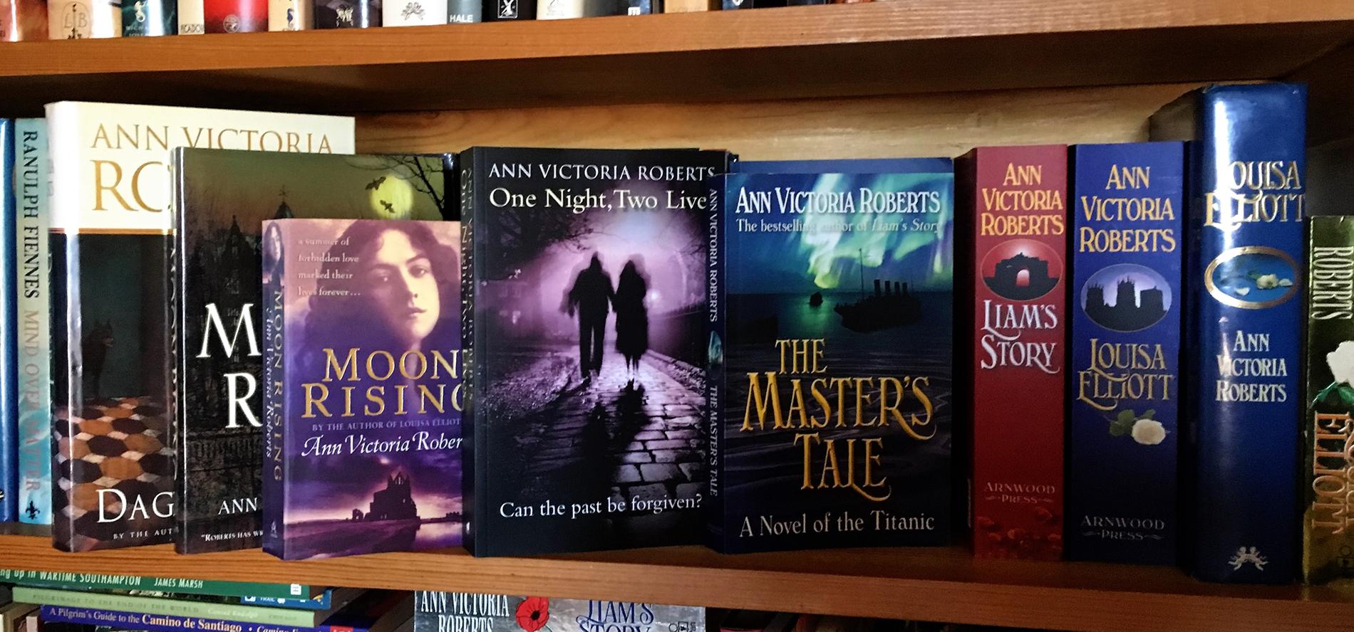 One Night, Two Lives on my bookshelf
